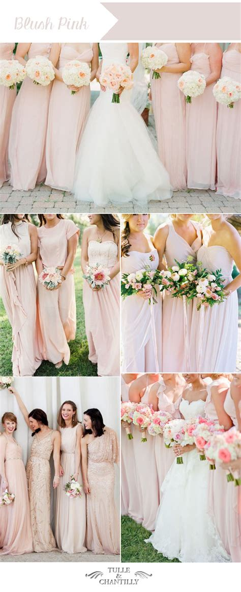 top 10 wedding blogs top ten wedding colors for summer bridesmaid dresses 2016
