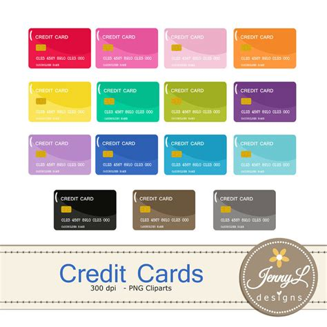 Pink Credit Card Digital by Credit Card Clipart Debit Card For Planners Digital