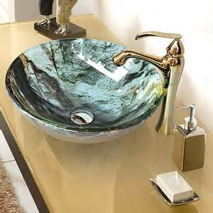 High End Vessel Sinks by High End Tall Single Handle Bathroom Vessel Sink Faucet