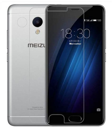 Tempered Glass Zu M3s Meizu M3s Tempered Glass Screen Guard By Mercator Mobile Screen Guards At Low Prices