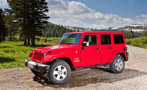 Jeep Wrangler Or Wrangler Unlimited Car And Driver
