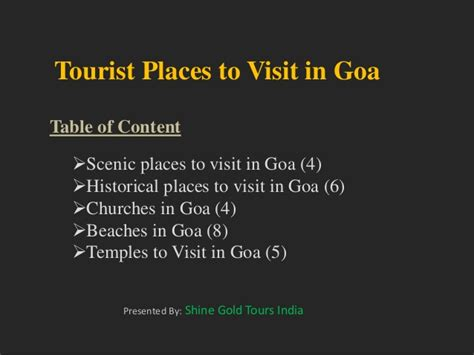places to go on day 28 places you must visit in goa
