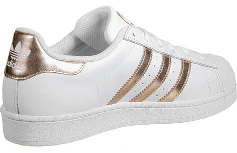 Adidas Superstars adidas superstar w shoes white copper weare shop