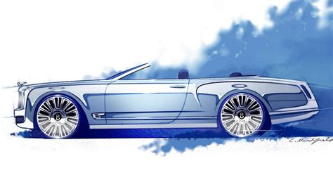 bentley mulsanne drop top still in the books report suggests