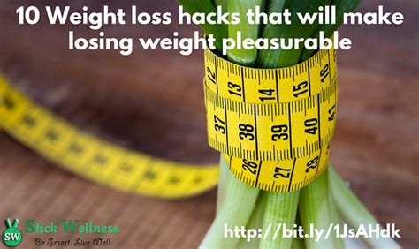 10 Weight Losers by 10 Weight Loss Hacks That You Can Incorporate With Less Effort