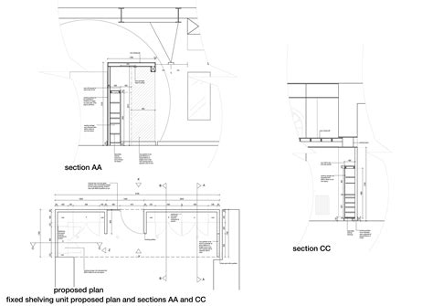 desk section desk section drawing