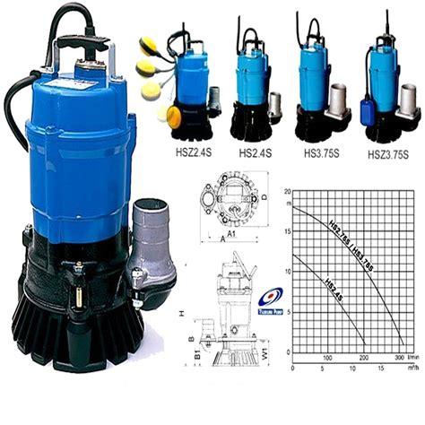 Pompa Celup Penyedot Lumpur harga jual tsurumi hsz2 4s pompa air dewatering otomatis