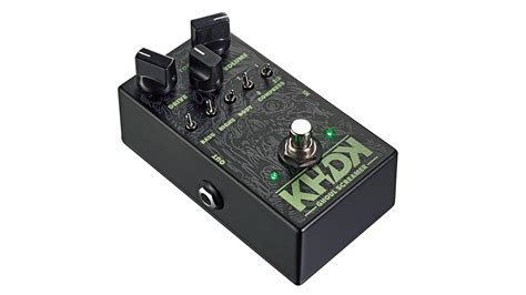 kirk hammett tube screamer khdk ghoul screamer kirk hammett overdrive review musicradar