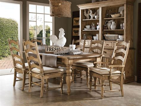 farmhouse dining table set homecoming solid wood farmhouse leg dining table