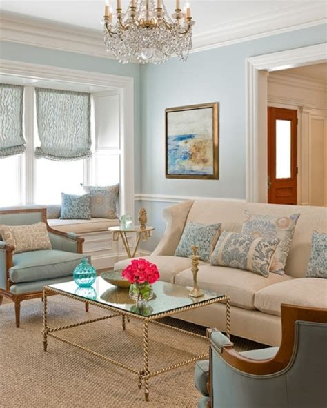 light blue and gold living room color roundup using sky blue in interior design the colorful beethe colorful bee
