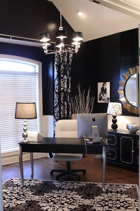 black and white home office decorating ideas home office ideas