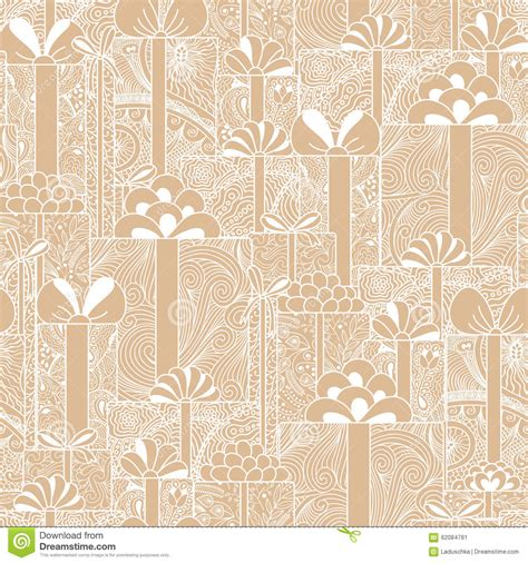 gift pattern background seamless gift boxes pattern stock vector image 62084781
