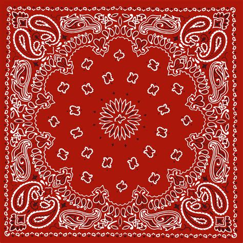 Bandana Template bandana stencil patterns studio design gallery best design