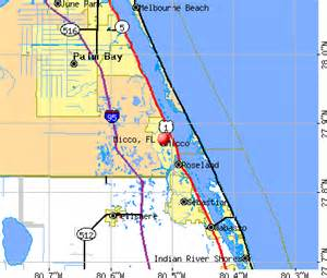 barefoot bay fl map my