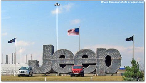 Jeep Toledo Plant Toledo Assembly Plants And Supplier Park Jeep And Dodge