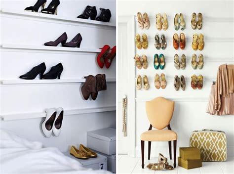 schoenen opbergen ikea ikea ribba racks shelves hacks organize shoes store wall