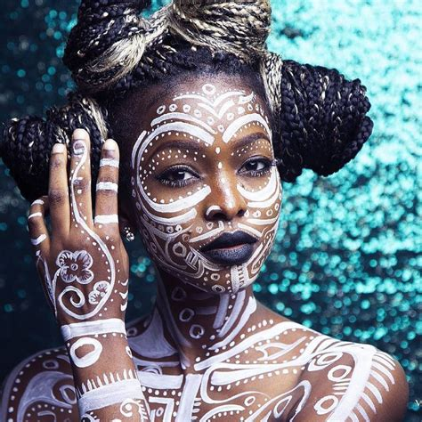 african tribal women face paint 465 best exotic make up images on pinterest artistic