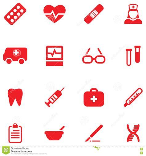 iconos de pharma y salud vector de stock 10920725 fije los iconos del vector para m 233 dico y la salud