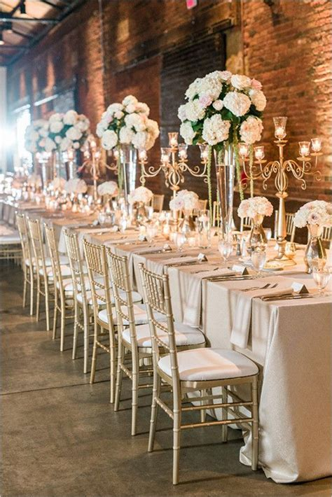 Lovely Pink And Ivory Wedding Gold Weddings Reception Gold Centerpieces Wedding Reception