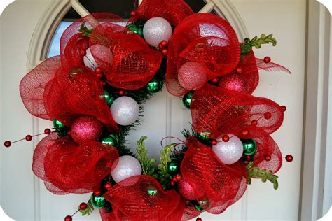 mesh wreath the sparacino chronicles deco mesh wreath tutorial