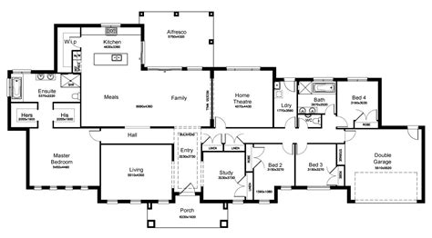acreage house plans qld fairmont 38 3 acreage level floorplan by kurmond homes new home