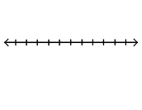 printable blank number line to 10 7 best images of printable blank number line 1 10 blank