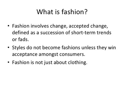 chapter 1 fashion marketing
