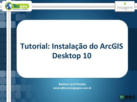 tutorial arcgis desktop 10 2 instala 231 227 o do arcgis desktop 10