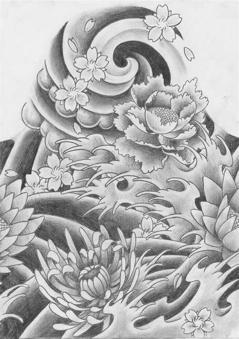 japanese tattoo background designs traditional japanese by keepermilio on deviantart