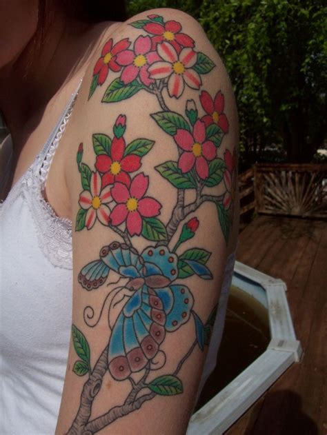 tribal cherry blossom tattoos 17 best images about cherry blossom on