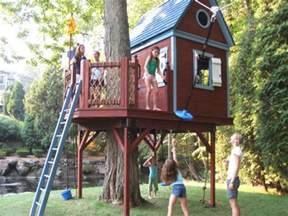 backyard tree house kits barbara butler tree house bluebird treehouse