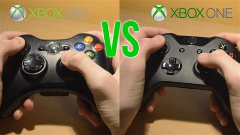 which is better xbox 360 or xbox one xbox one controller vs xbox 360 controller in depth xbox