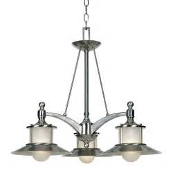 Nautical Kitchen Island Lighting Nautical Chandelier With Three Lights Na5103bn Destination Lighting