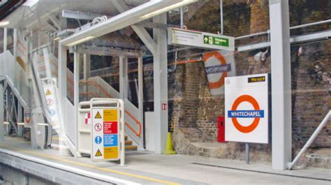 whitechapel london overground station  ben