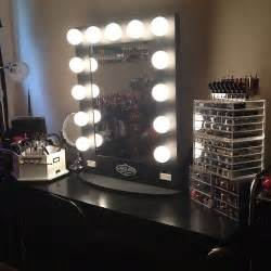 Makeup Vanity And Storage Vanity Lights Lucite Make Up Storage Home Is Where Your