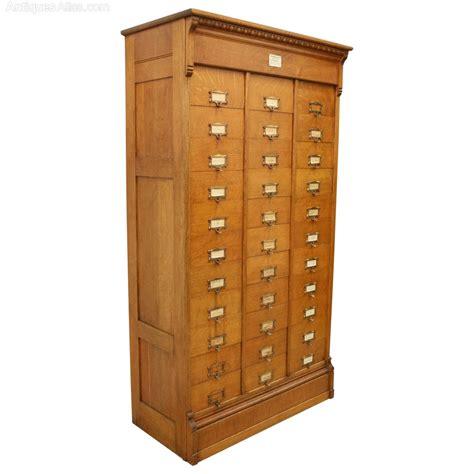 Oak Filing Cabinet Amercian Oak Filing Cabinet Antiques Atlas