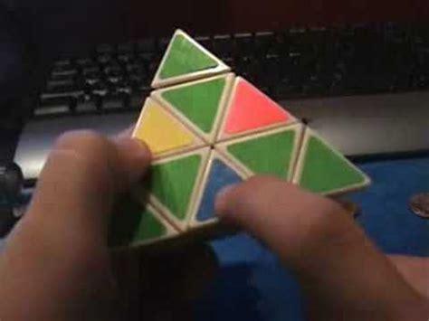 tutorial rubik piramid how to solve a pyraminx tutorial funnycat tv