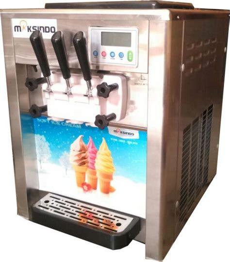 Mesin Freezer Es Krim mesin es krim 3 kran harga murah toko mesin maksindo