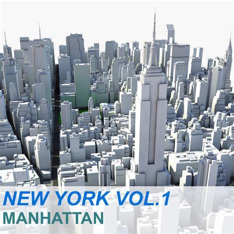 New Naifa Vol 40 new york manhattan vol 3d max