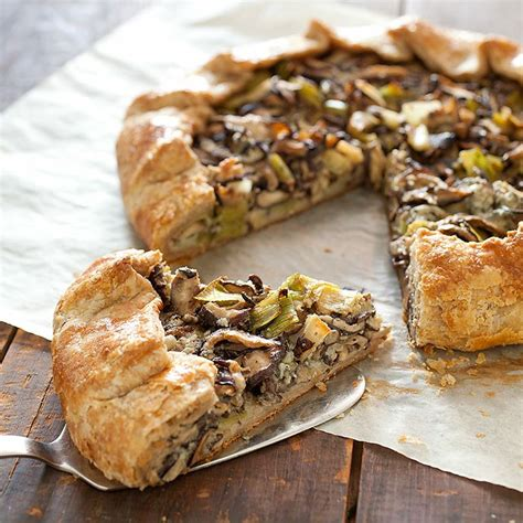 Southern Comfort Appetizers our leek and gorgonzola tart is the