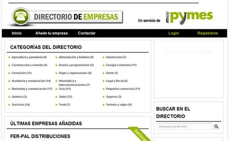 directorio de empresas muypymes crea un nuevo directorio de empresas 187 mcpro