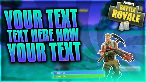 fortnite thumbnail template blank battle royale fortnite thumbnail pictures to pin on