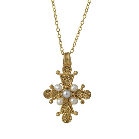 cross pendants for jewelry late byzantine cross pendant the met store