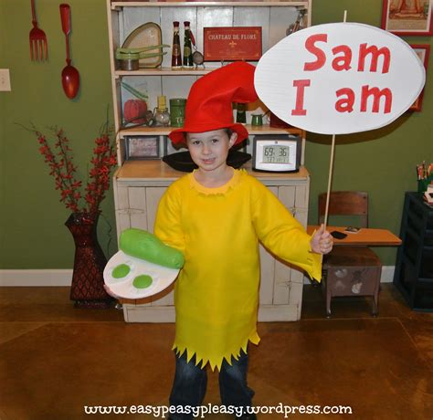 dr seuss diy costumes all things dr seuss sam i am costume easy peasy pleasy