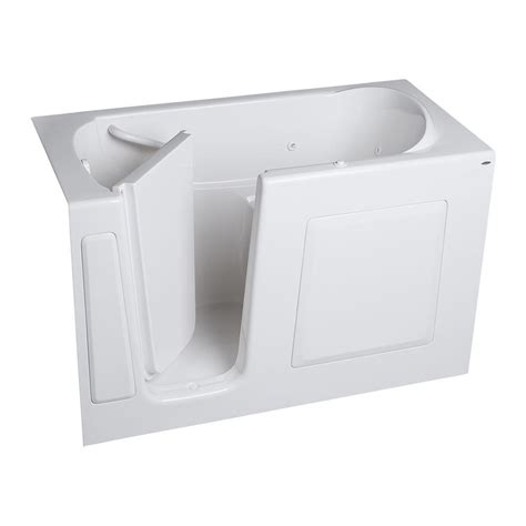 american standard walk in bathtub american standard gelcoat standard series 60 in x 30 in