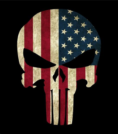 infidel usa ole militia skull window decal