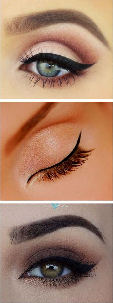eyeliner tutorial for big eyes cat eye makeup how to do cat eyes step by step in minutes