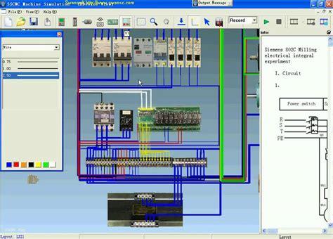 design electric application swansoft electric simulation siemens cnc machine