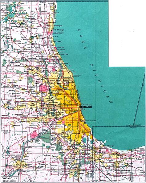 Chicago Illinois Us Map by Index Of United States Maps Illinois Maps