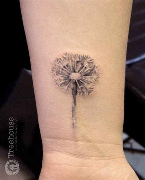 dandelion tattoo 35 kick dandelion designs